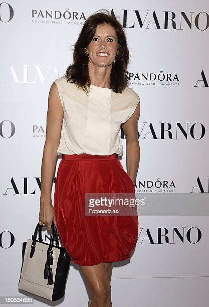 Nuria March attends Alvarno fashion show at Palacio de Neptuno on September 11 2013 in Madrid Spain