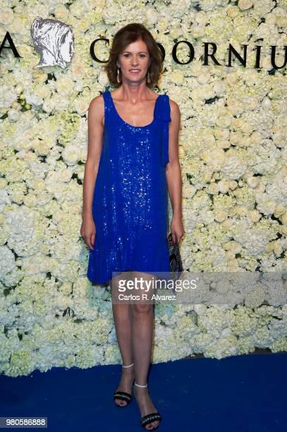 Nuria March attends Harper's Bazaar and Anna De Codorniu party at Alma Club on June 21 2018 in Madrid Spain