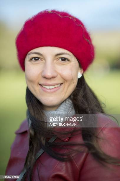 Nuria Orduna a senior design engineer from Barcelona living in Edinburgh Scotland poses in Glasgow on January 16 2018 On Brexit she says 'If I have...