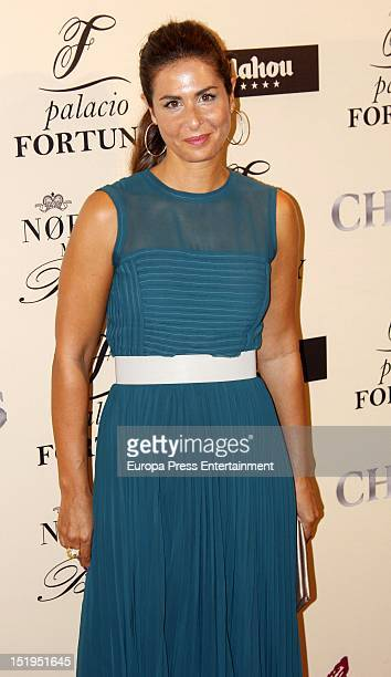 Nuria Roca attends 'Fortuny' 15th Anniversary party on September 12 2012 in Madrid Spain