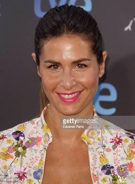 Nuria Roca attends 'Las brujas de Zugarramurdi' premiere photocall at Kinepolis Cinema on September 26 2013 in Madrid Spain