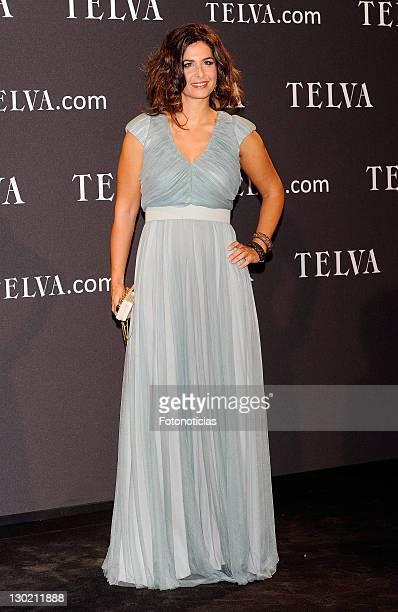 Nuria Roca attends Telva Awards 2001 at the Palacio de Cibeles on October 24 2011 in Madrid Spain