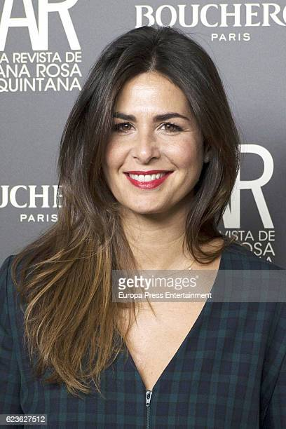 Nuria Roca attends the AR Magazine's 15th anniversary party on November 15 2016 in Madrid Spain