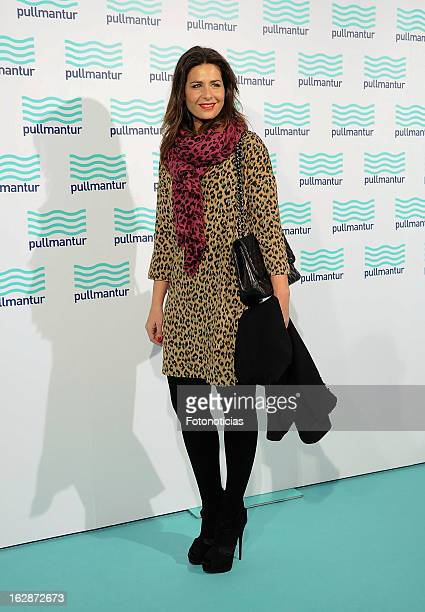 Nuria Roca attends the Blue Night by Pullmantur at Neptuno Palace on February 28 2013 in Madrid Spain
