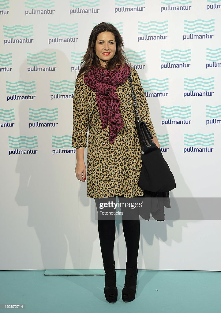 Nuria Roca attends the Blue Night by Pullmantur at Neptuno Palace on February 28, 2013 in Madrid, Spain.