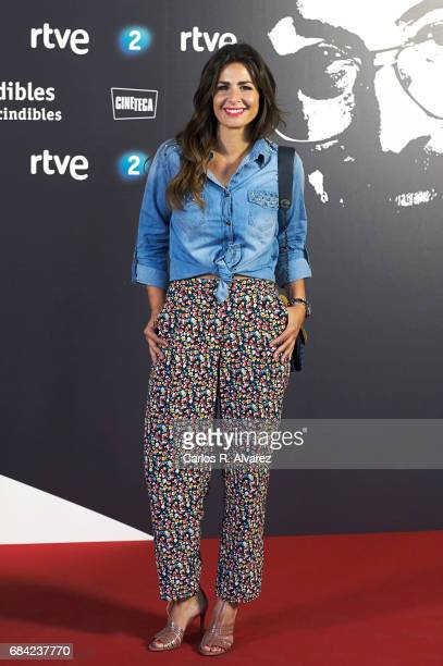 Nuria Roca attends the 'Imprescindibles' premiere at the Cineteca cinema on May 17 2017 in Madrid Spain