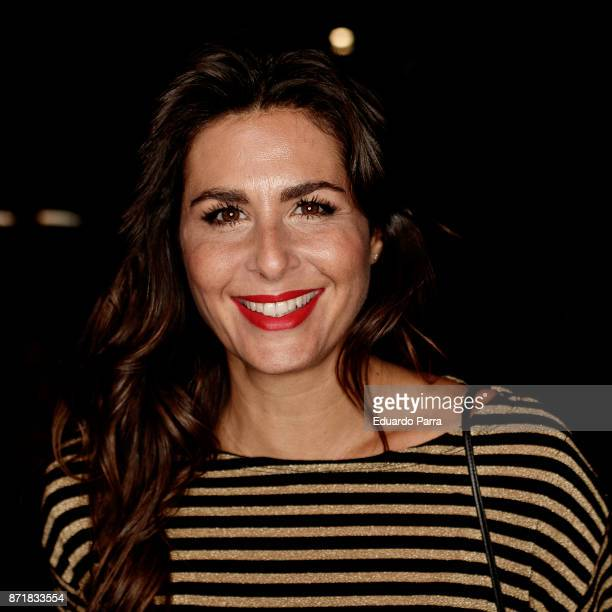 Nuria Roca attends the 'Oro' premiere at Capitol cinema on November 8 2017 in Madrid Spain