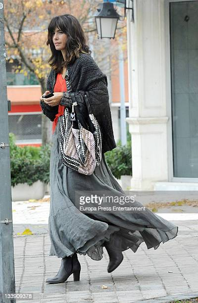Nuria Roca is seen on November 22 2011 in Madrid Spain