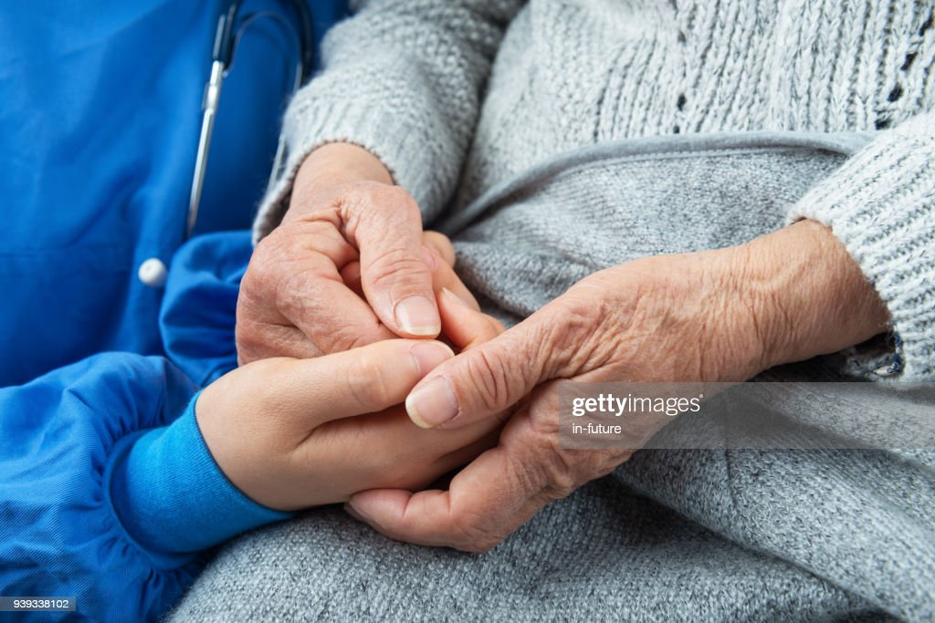 Nurising Assistant,A Helping Hand : Stock Photo