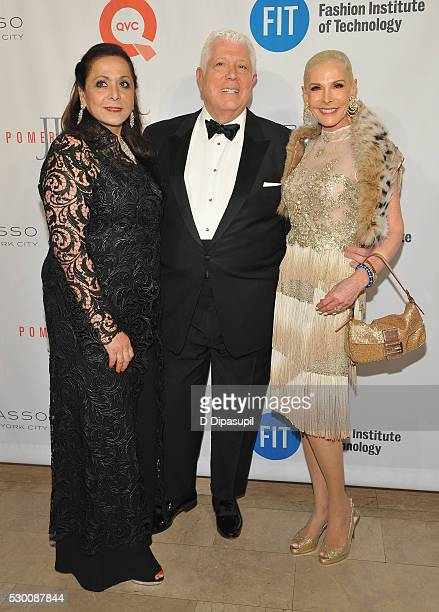 Nurit Haase Dennis Basso and guest attend FIT's Annual Gala to Honor Dennis Basso John and Laura Pomerantz and QVC at the Grand Ballroom at The Plaza...
