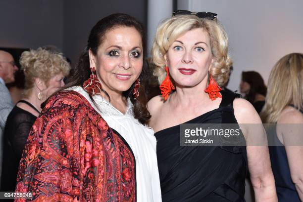 Nurit Kahane and Paola Bacchini attend the 21st Annual Hamptons Heart Ball at Southampton Arts Center on June 10 2017 in Southampton New York