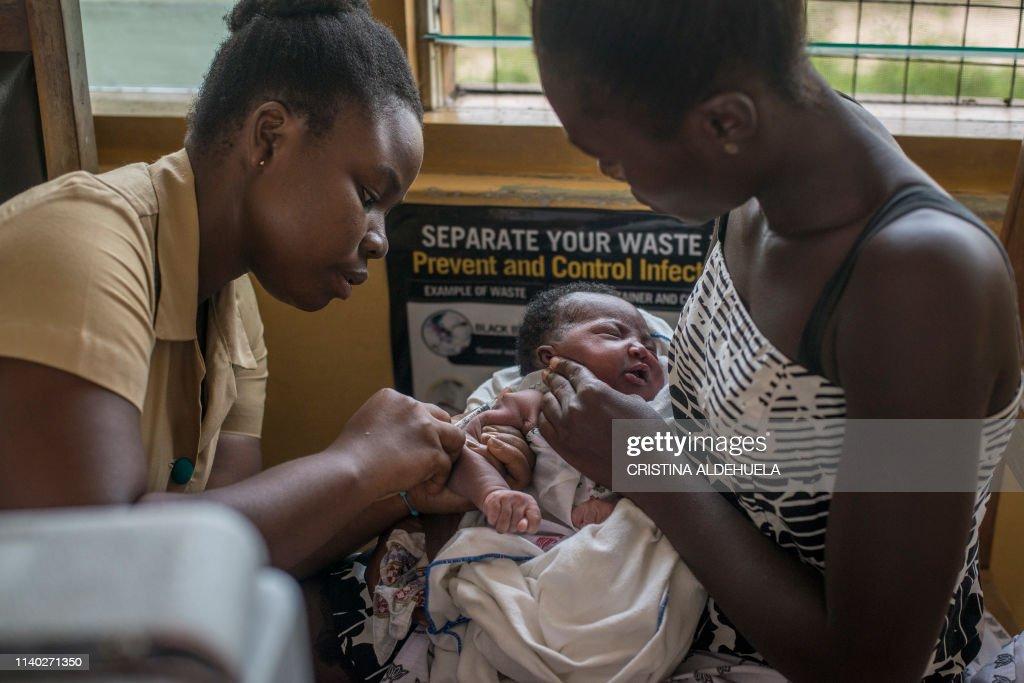 GHANA-HEALTH-VACCINES-MALARIA : Foto jornalística