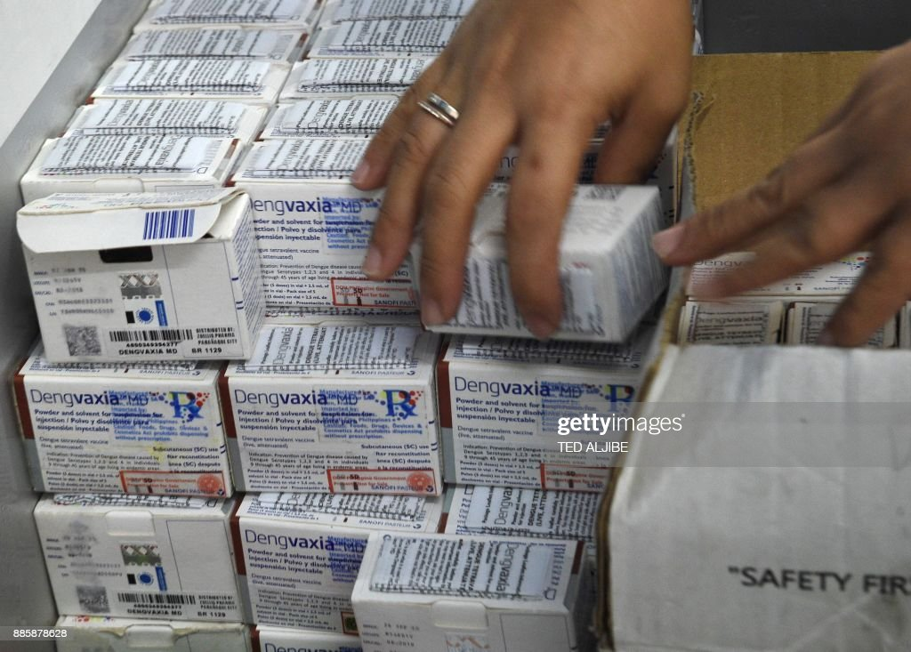 PHILIPPINES-HEALTH-FRANCE-DENGUE-VACCINES : News Photo