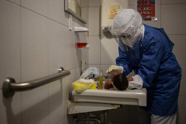 MEX: Pregnant and Breastfeeding Women Infected with COVID-19 Treated at Monica Pretelini Hospital