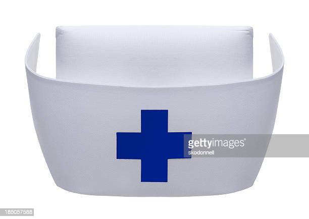 Nurse Hat on White