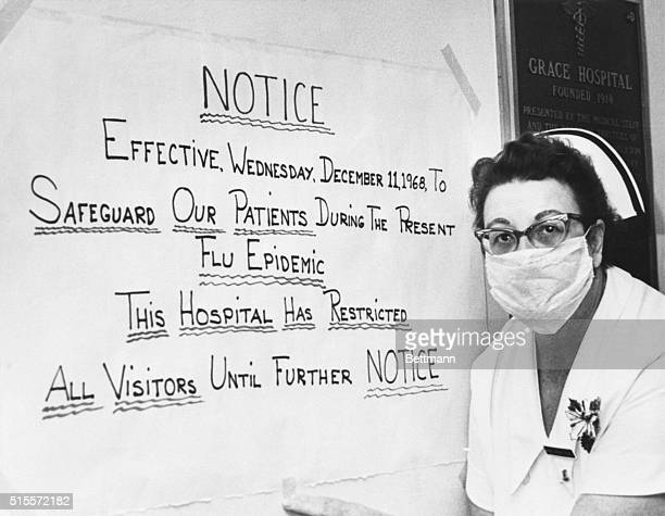 Nurse Nadyne Weber stands by her notice severely restricting visiting hours at Cleveland's Grace Hospital due to a flu outbreak