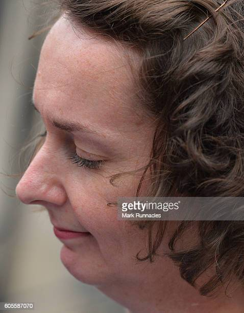 Nurse Pauline Cafferkey leaves a Nursing and Midwifery Council hearing on September 14 2016 in Edinburgh Scotland The Scottish nurse who survived...
