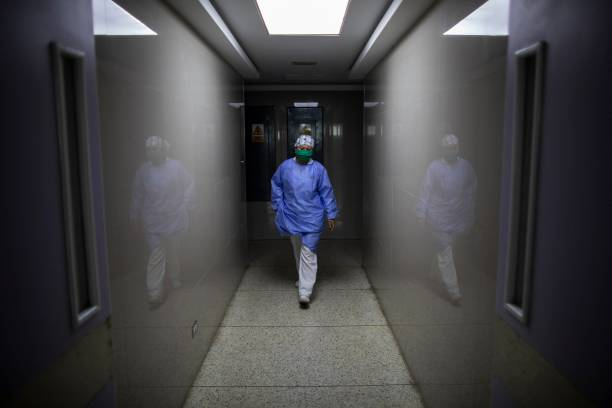 VEN: Venezuelan Nurse Works In The Front line For Minimum Wage