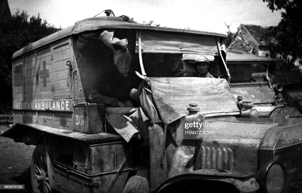 American Ambulance Photo French Army WW1
