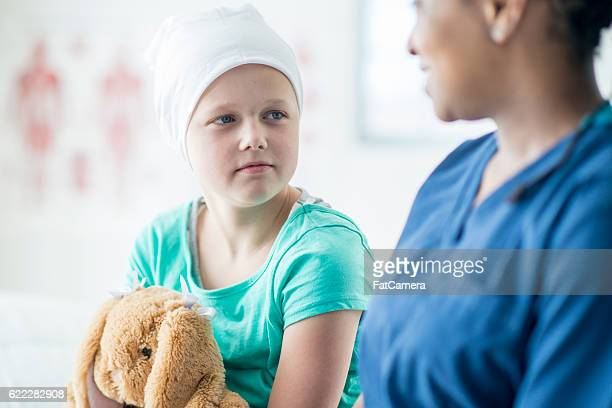 Nurse Spending Time with a Child with Cancer