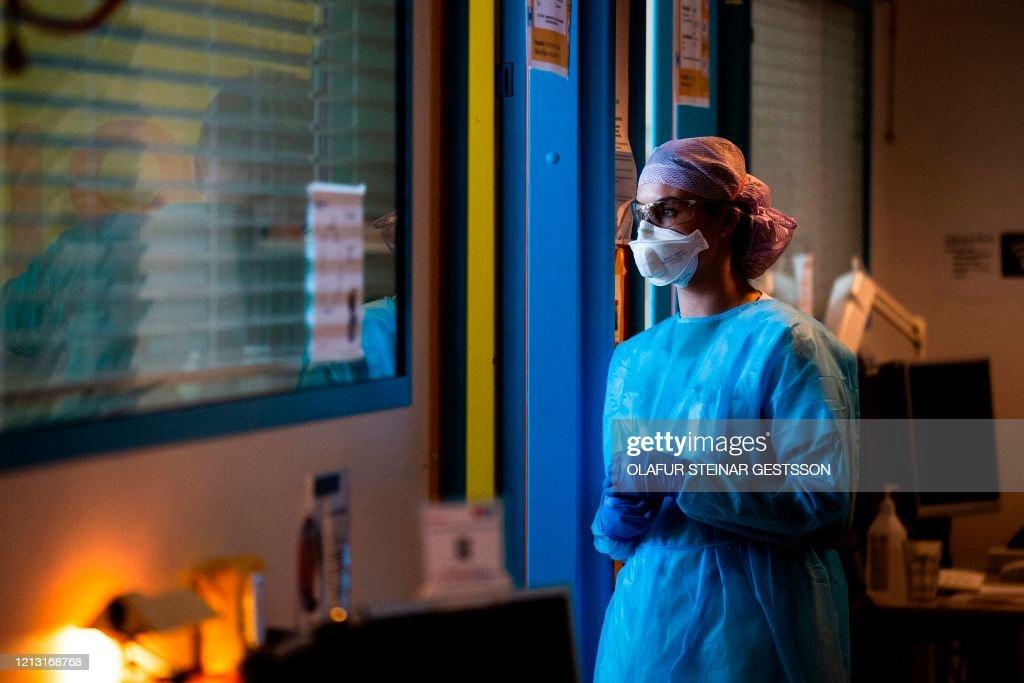 DENMARK-HEALTH-VIRUS-HOSPITAL : Nachrichtenfoto