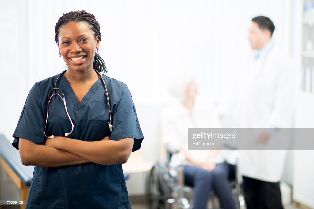Nurse with Patient : Stock Photo