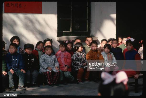 Nursery School Children in Hangzhou