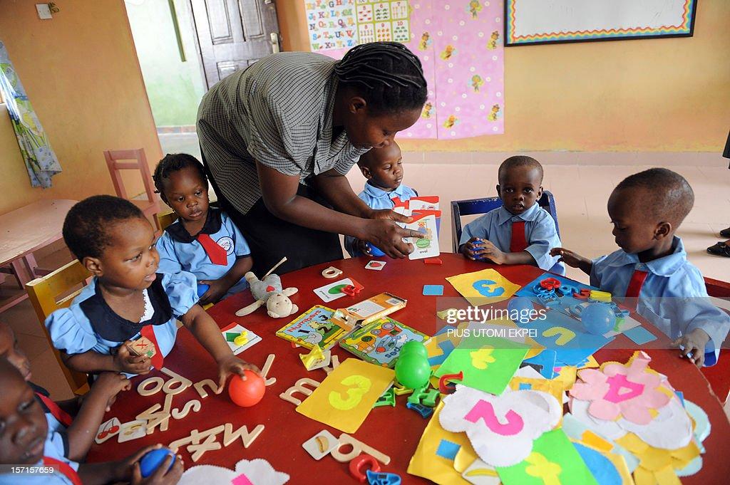 Nigeria Theme Education News Photo