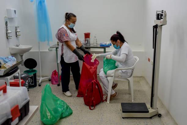 COL: Door To Door Vaccination in Rural Areas Of Colombia