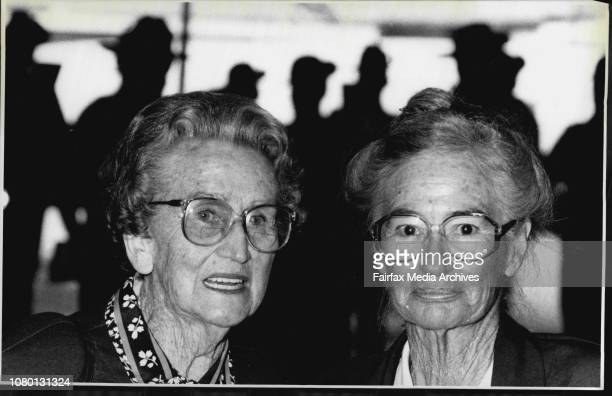 Nurses From 2/5 Australian General Hospital Div Mollie Edwards and Una Keast Old diggers go to Greece and Crete To Reminisce May 8 1991