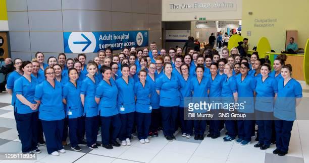 Nurses group picture .