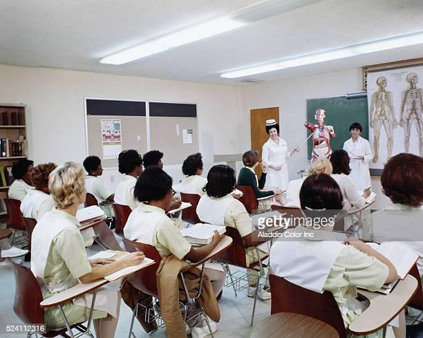 Nursing class at Greenville Memorial Hospital