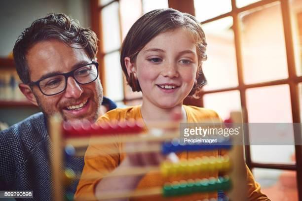 nurturing bright young minds - abaco imagens e fotografias de stock