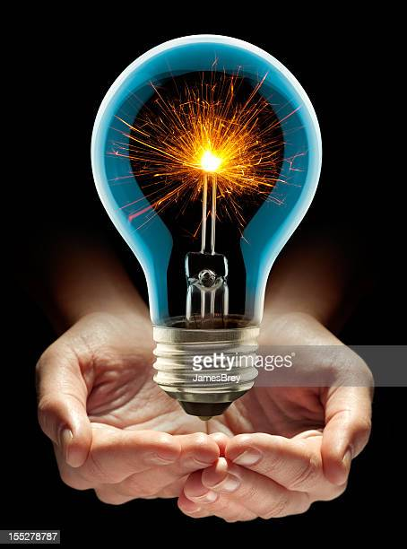 nurturing that sizzling hot new idea - intellectual property stock pictures, royalty-free photos & images