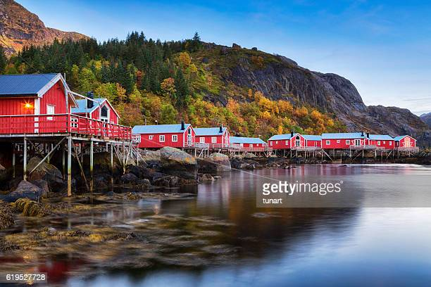 Nusfjord Village, Lofoten, Norway