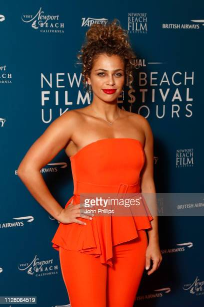 Nush Cope attends the Newport Beach Film Festival UK honours event at The Langham Hotel on February 07 2019 in London England