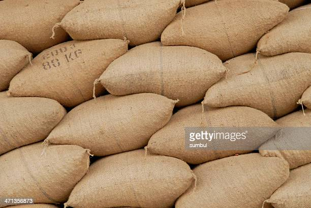 nut crop - sack stock pictures, royalty-free photos & images
