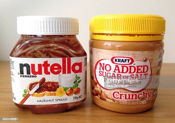 Nutella and peanut butter