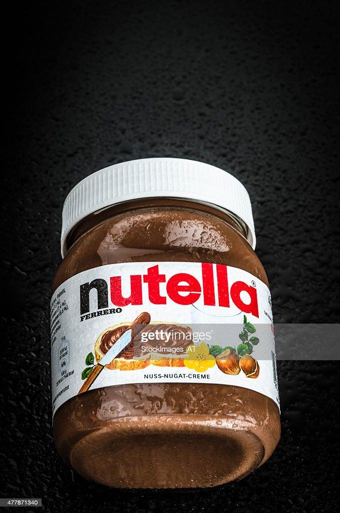 Nutella Hazelnut Spread : Stock Photo