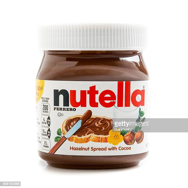 nutella - nutella foto e immagini stock