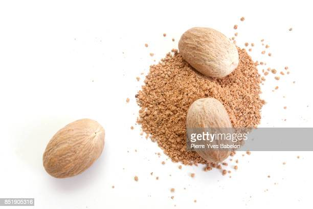Nutmegs and powder