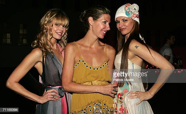 Nutritionist Karen Fischer fashion designers Heidi Middleton and Tali Jatali attend the Lancome Colour Design Awards 2006 at Fox Studios on June 8...