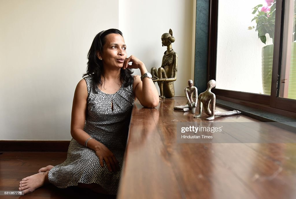 nutritionist rujuta diwekar during an exclusive interview with ht48hours hindustan times at her office