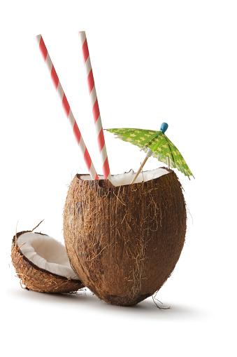 Nuts: Coconut, Umbrella and Straw 504856500
