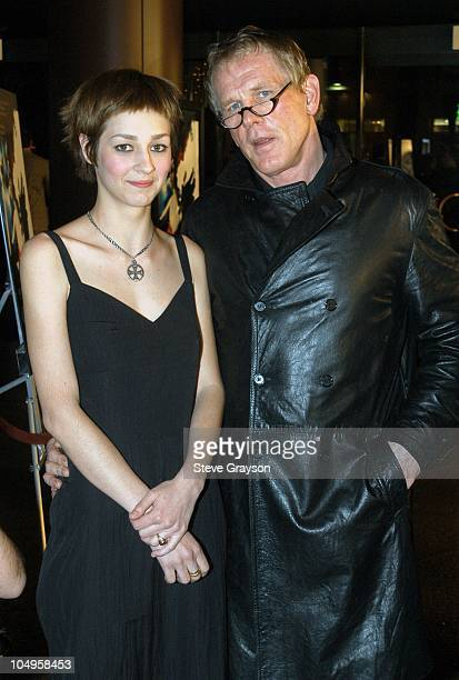 Nutsa Kukhianidze and Nick Nolte during Los Angeles Industry Screening Of Fox Searchlight Pictures' The Good Thief at Directors Guild of America in...