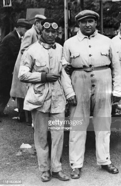 Nuvolari and Campari, Ulster T T 1930. Creator: Unknown.