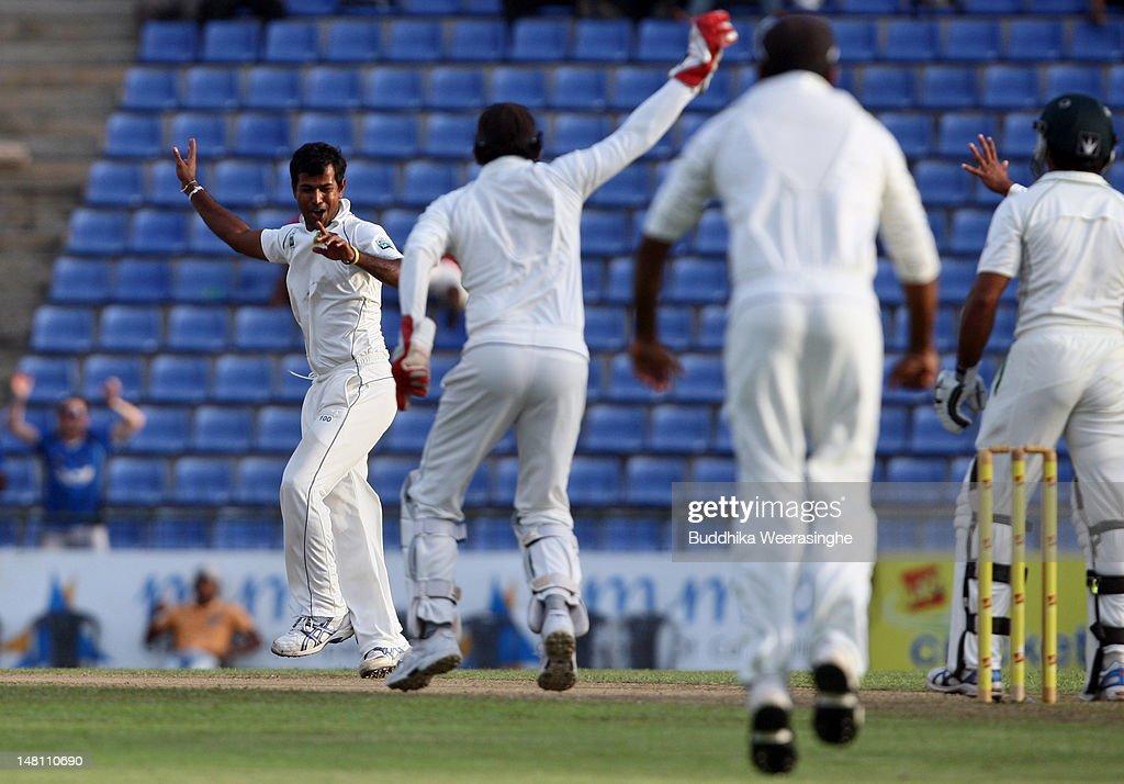 Sri Lanka v Pakistan Third Test - Day Three