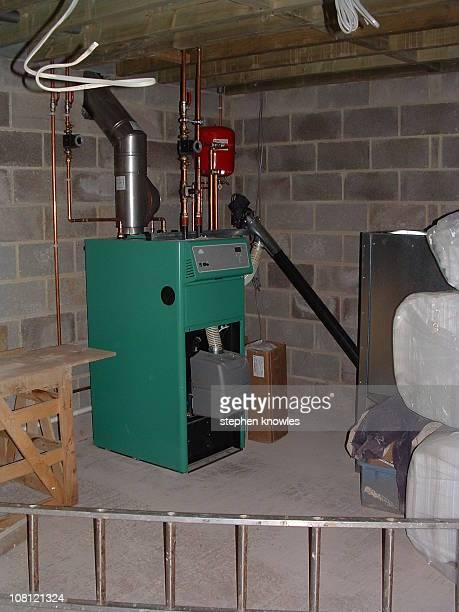Nuway Ecoflex 20 kw domestic biomass boiler