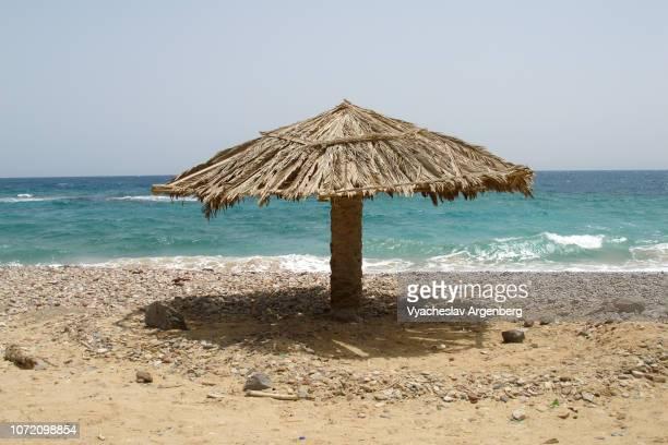 nuweiba beach, turquoise colors of red sea, sinai egypt - argenberg bildbanksfoton och bilder