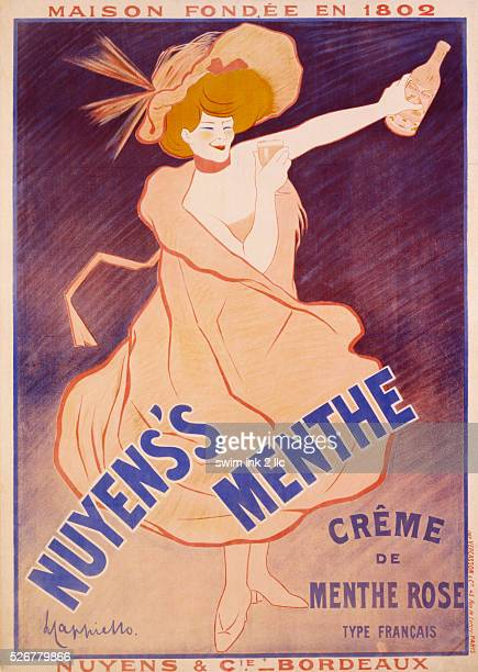Nuyen's Menthe Poster by Leonetto Cappiello